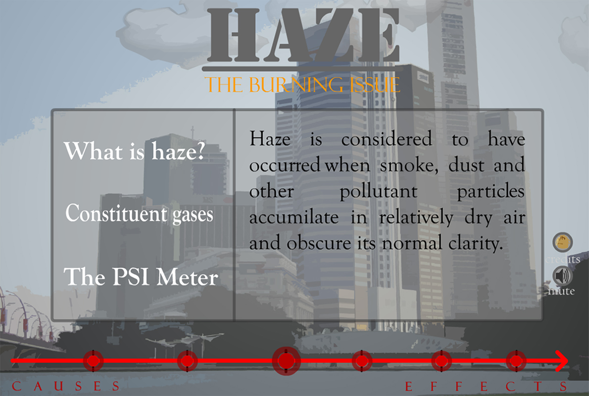 Haze — The Burning Issue