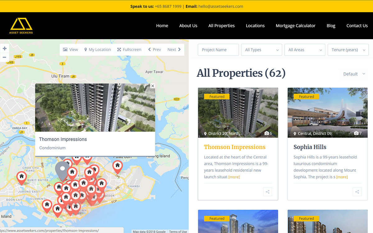 Property Listings — Asset Seekers