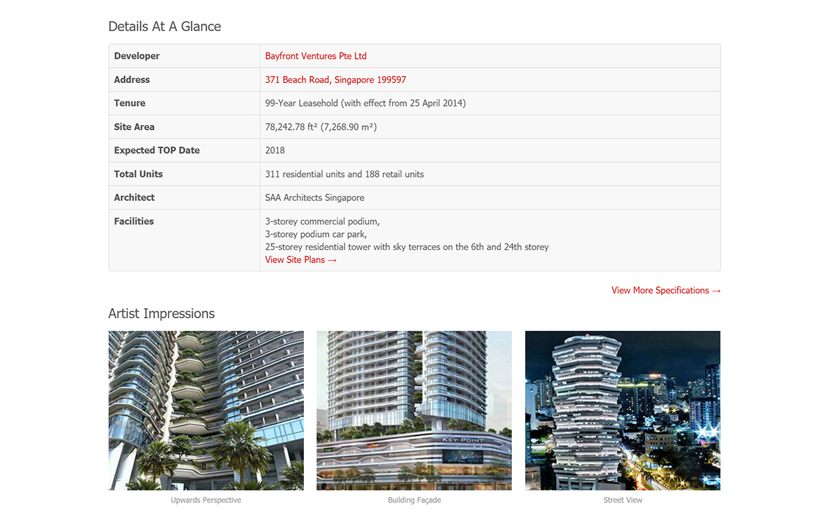 Citygate @ Beach Road - More of the Main Page