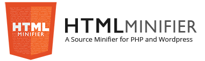 HTML Minifier - A Source Minifier for PHP and WordPress